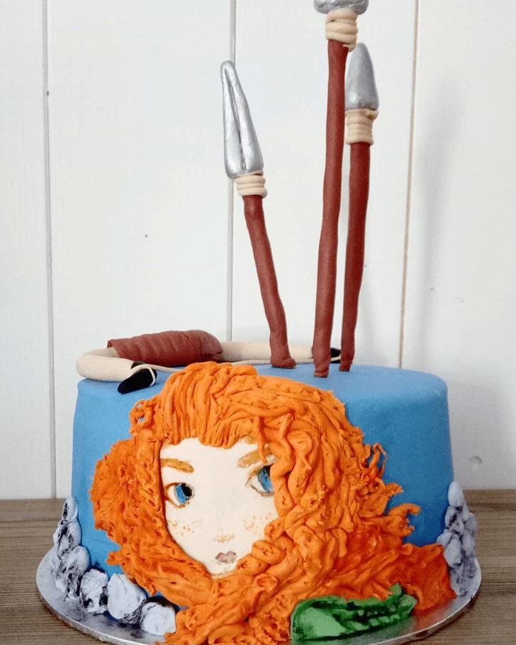 Magnetic Brave Movie Cake