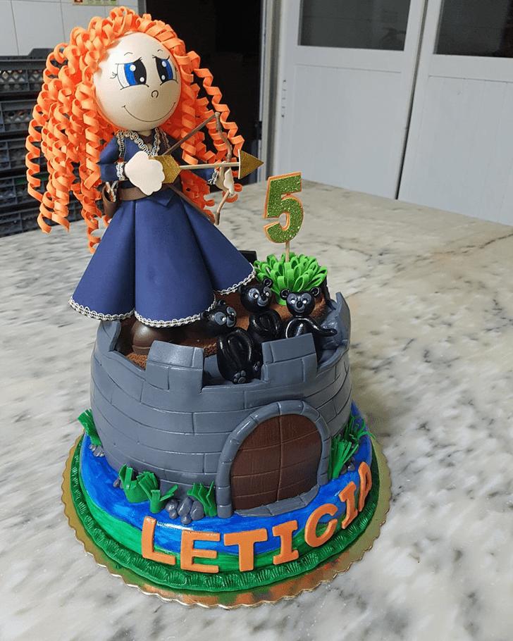 Magnificent Brave Movie Cake