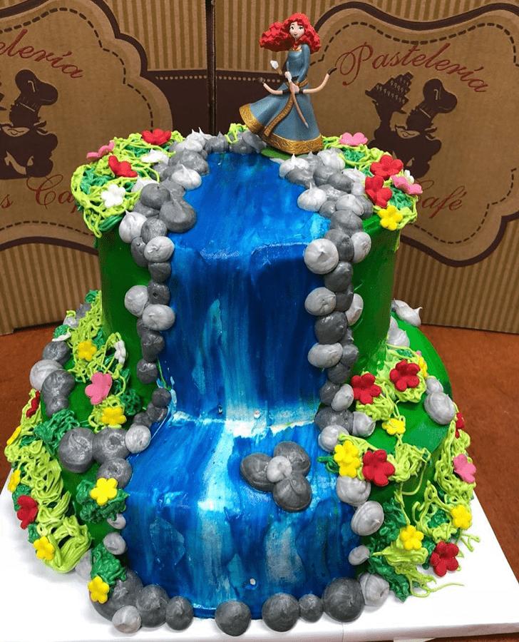 Marvelous Brave Movie Cake