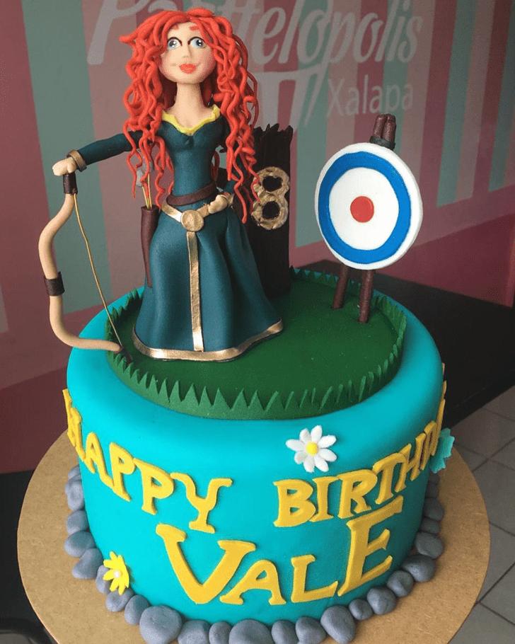 Mesmeric Brave Movie Cake
