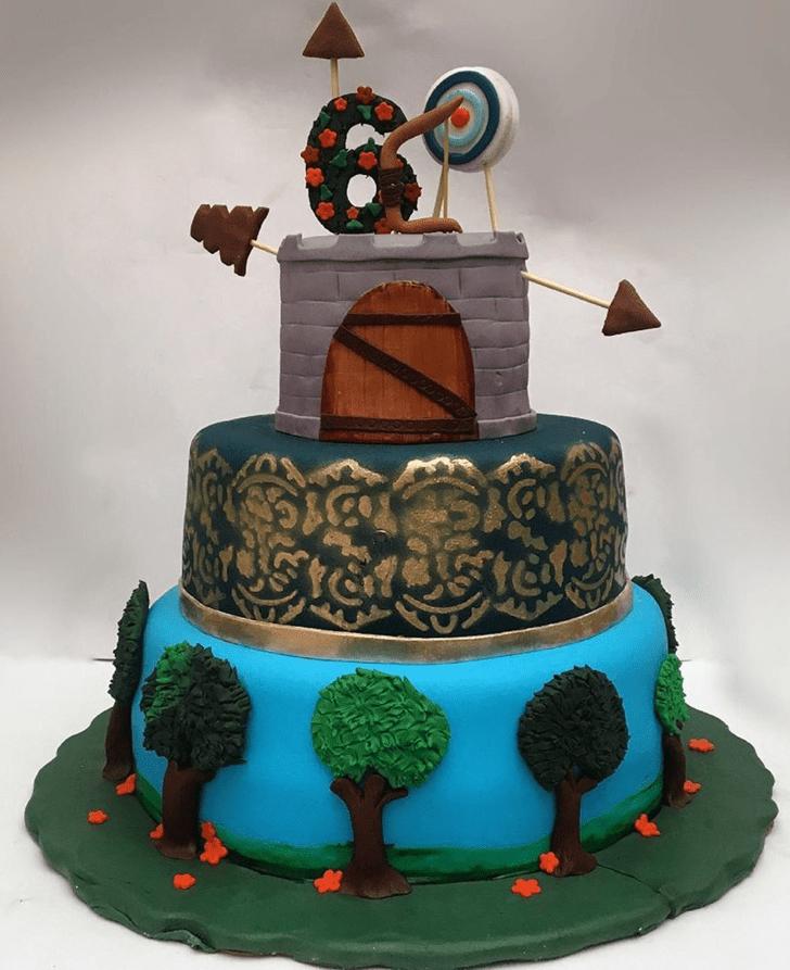 Nice Brave Movie Cake