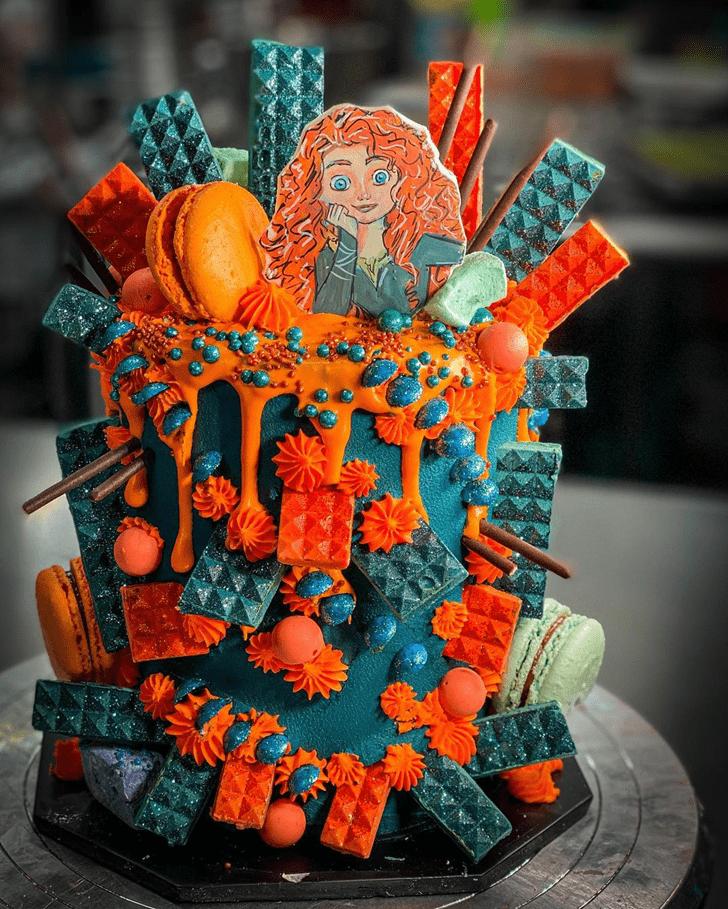 Pleasing Brave Movie Cake