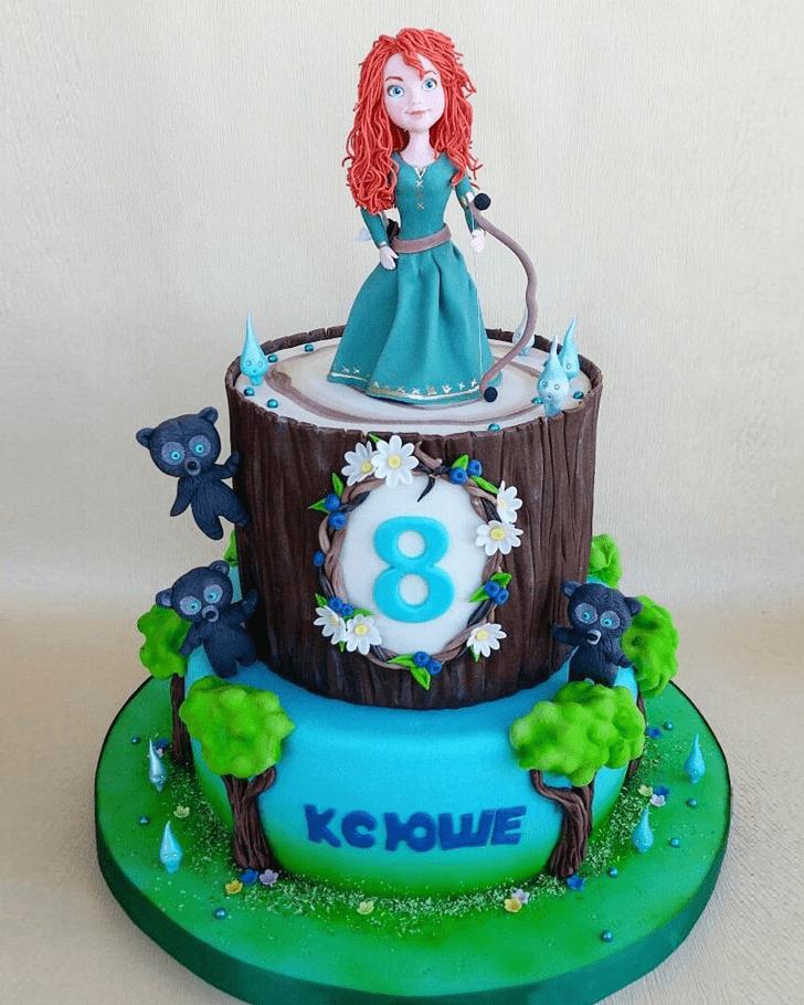 Ravishing Brave Movie Cake