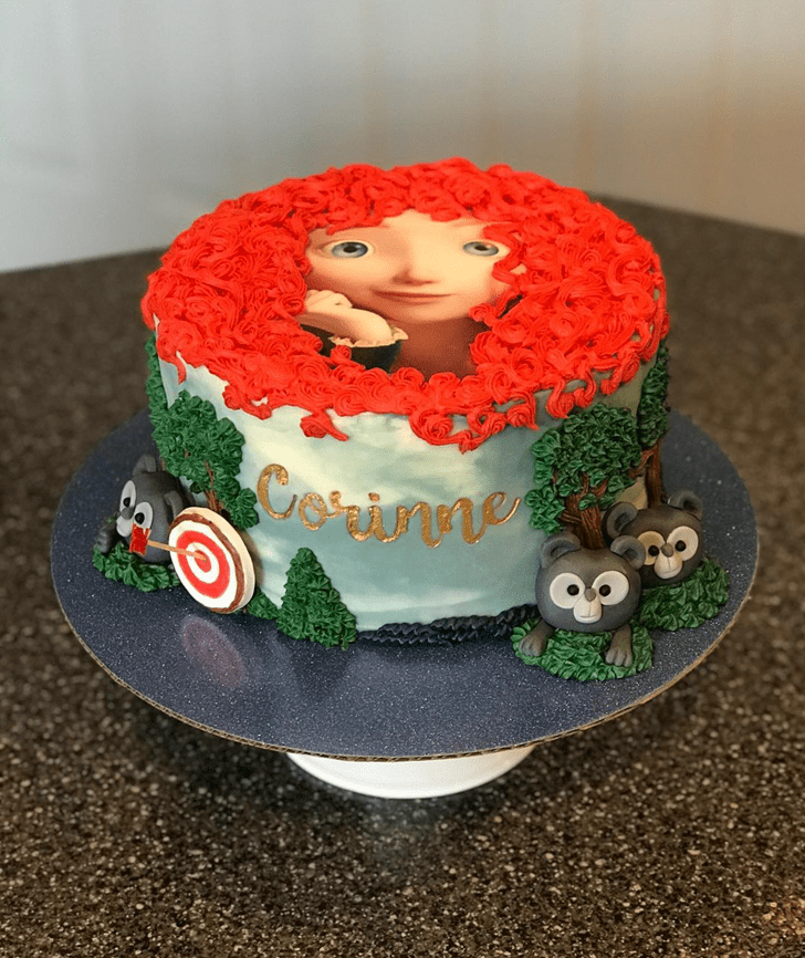 Resplendent Brave Movie Cake