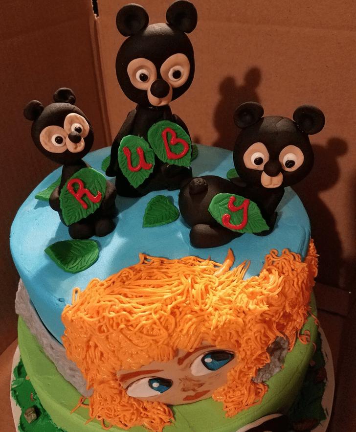 Shapely Brave Movie Cake