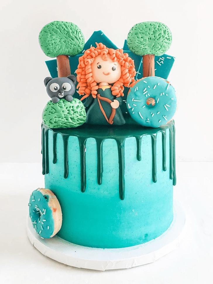 Stunning Brave Movie Cake