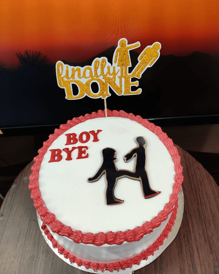 Bewitching Breakup Cake