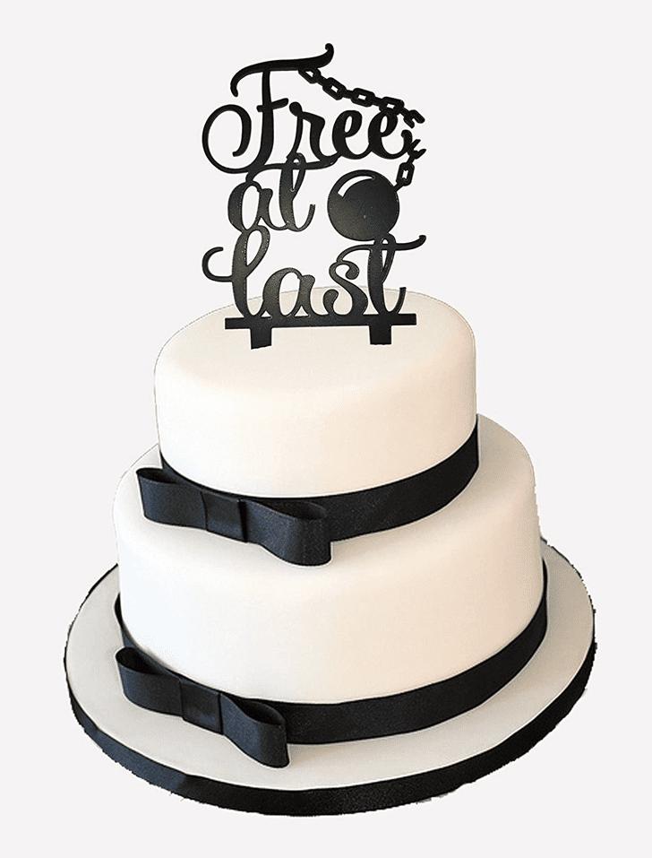 Elegant Breakup Cake