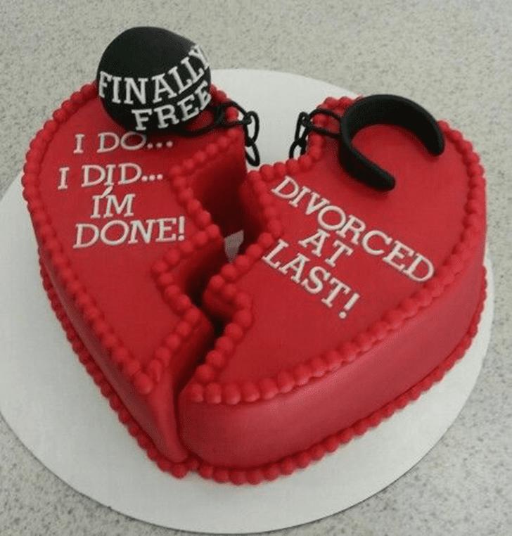 Excellent Breakup Cake