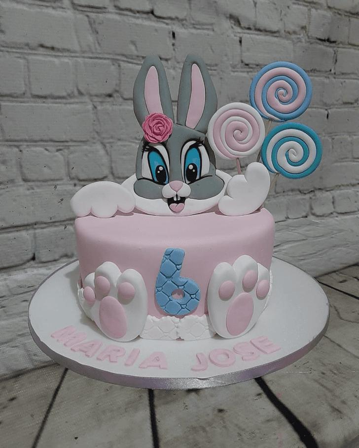 Alluring Bugs Bunny Cake