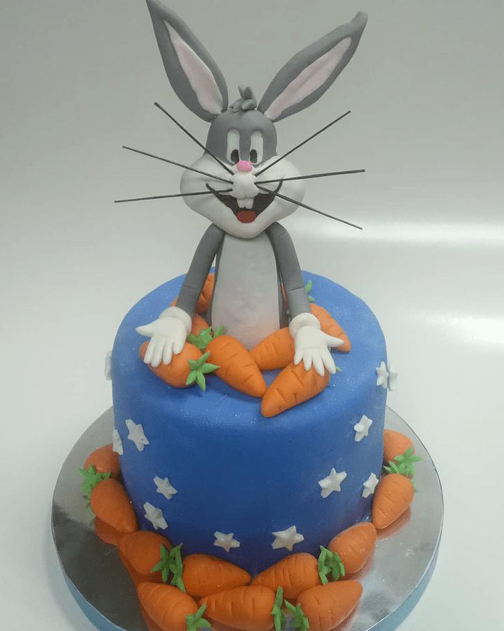 Beauteous Bugs Bunny Cake