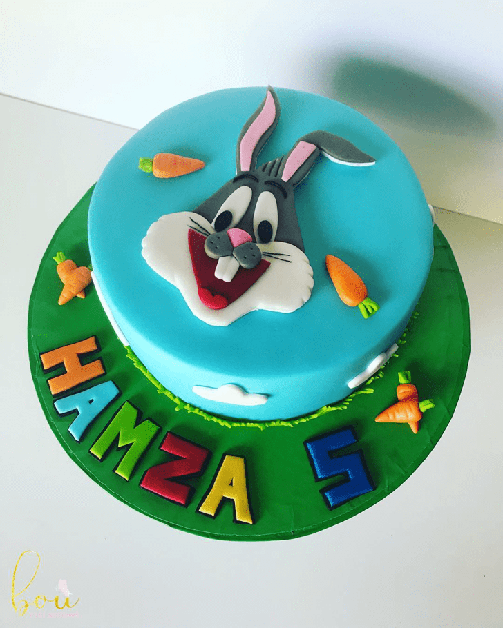Bewitching Bugs Bunny Cake