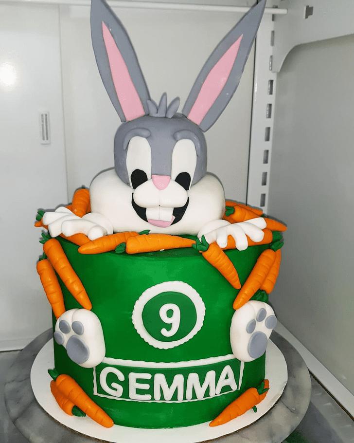 Captivating Bugs Bunny Cake