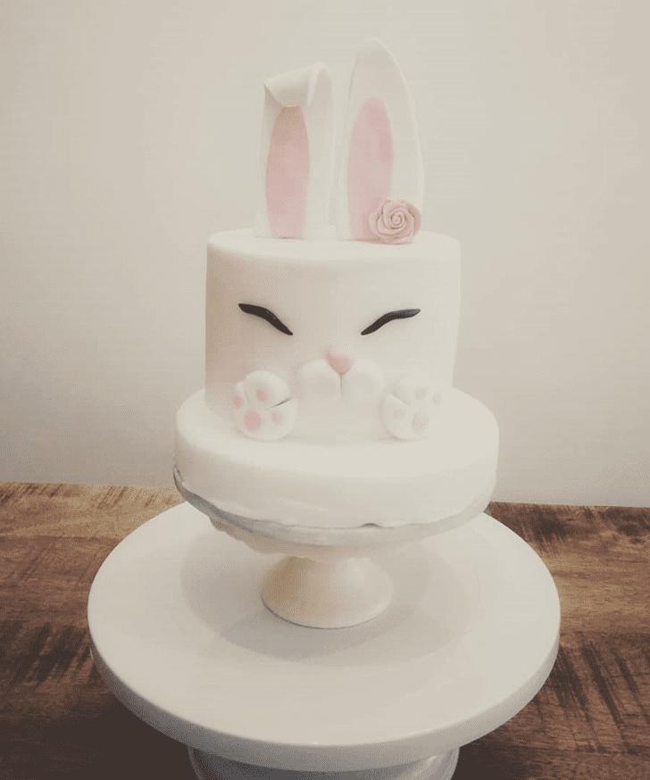 Admirable Bunny Cake Design