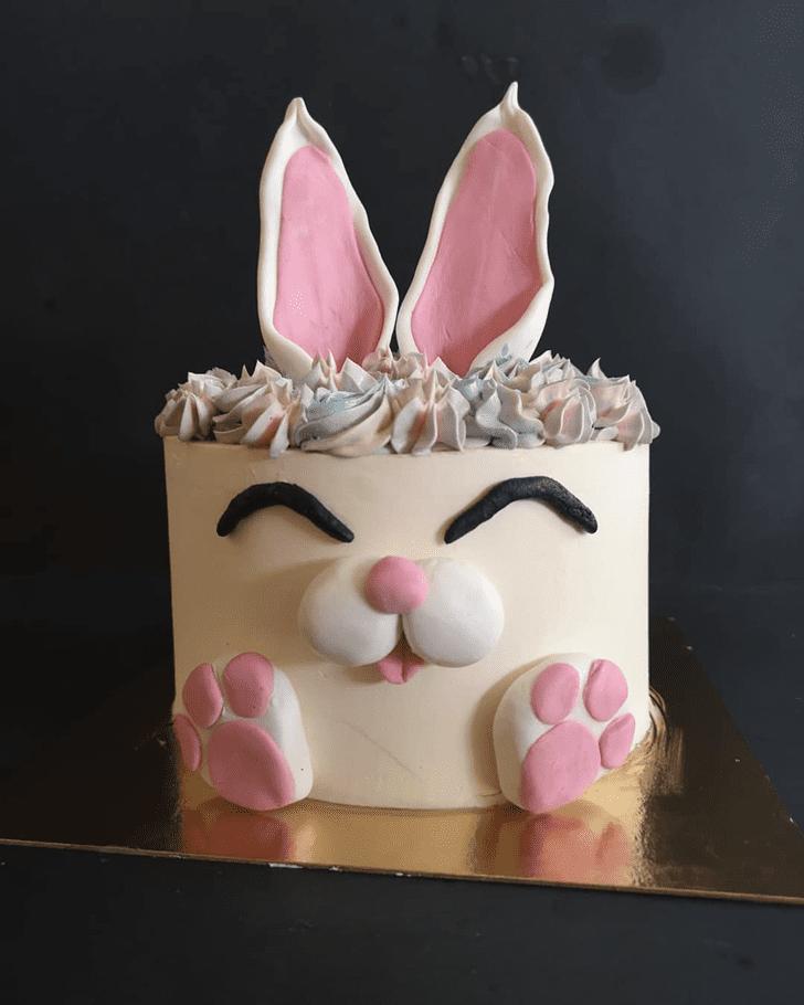 Adorable Bunny Cake