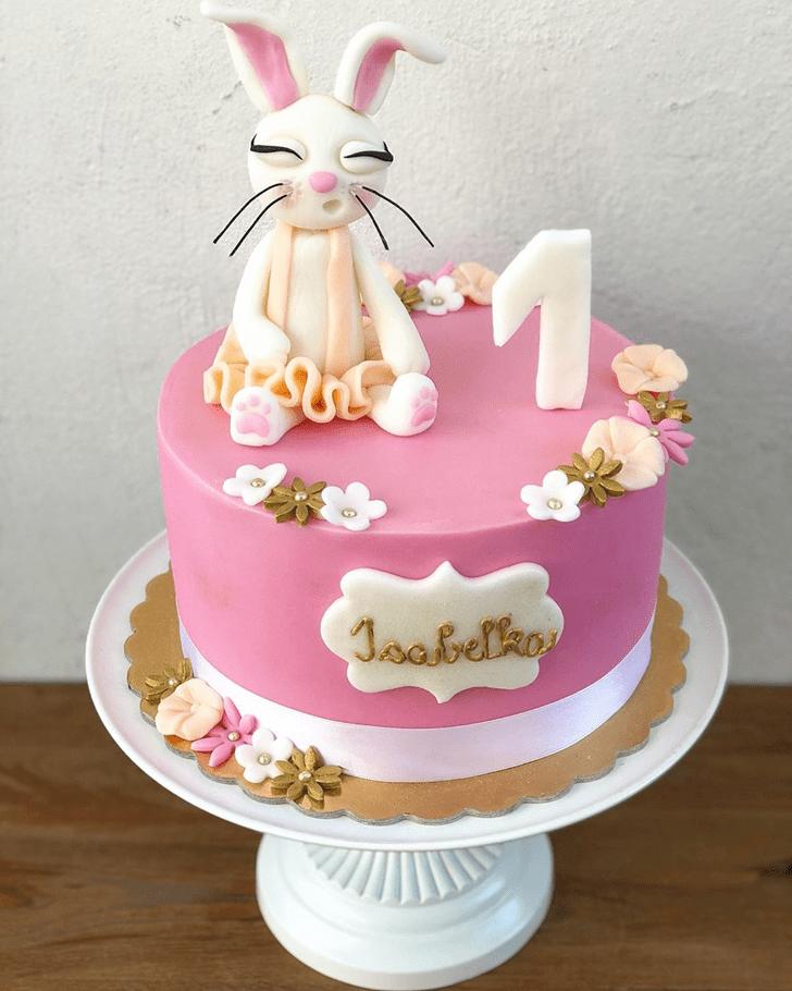 Beauteous Bunny Cake