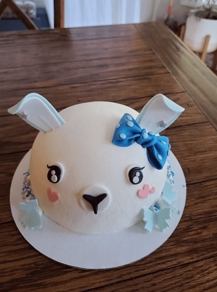 Bewitching Bunny Cake