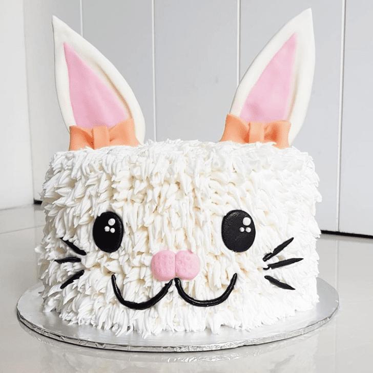 Classy Bunny Cake