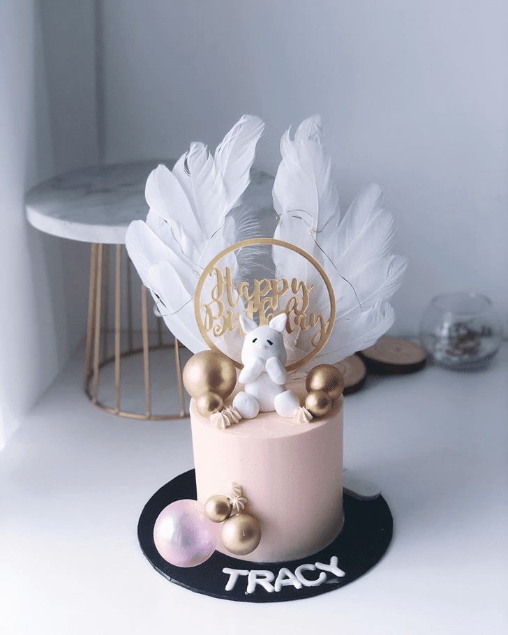 Comely Bunny Cake