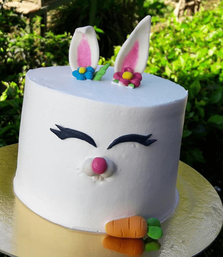 Delicate Bunny Cake