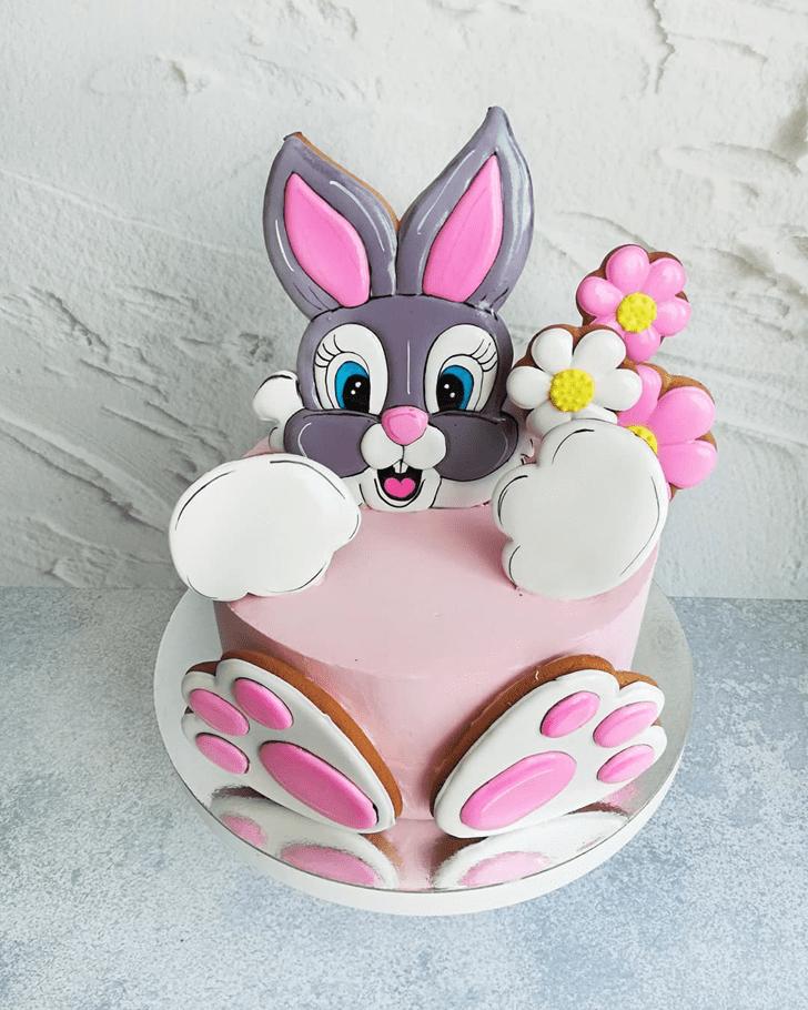 Enticing Bunny Cake