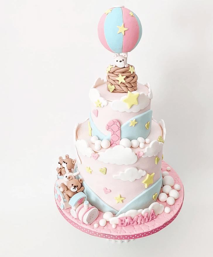 Exquisite Bunny Cake