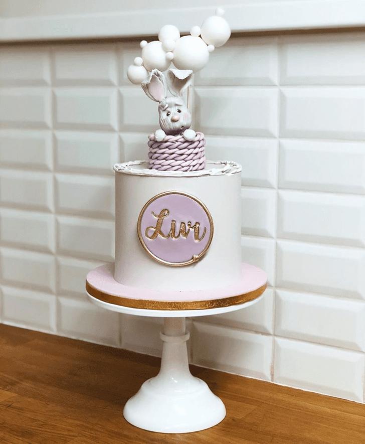 Graceful Bunny Cake