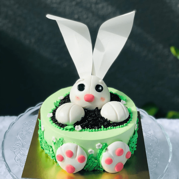 Pleasing Bunny Cake