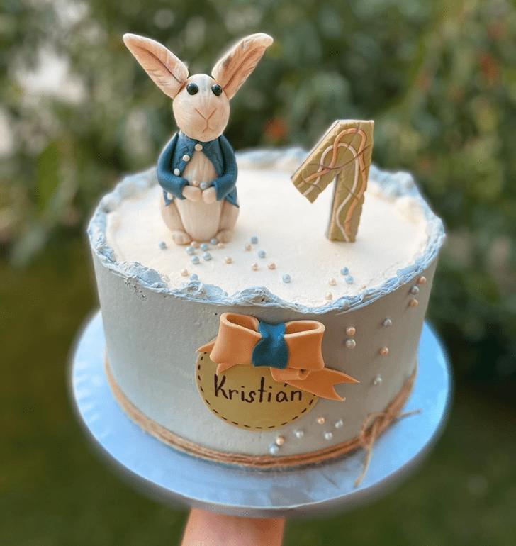Pretty Bunny Cake