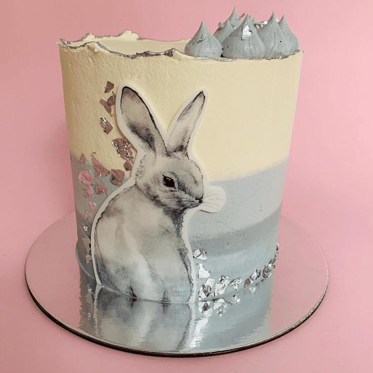 Shapely Bunny Cake
