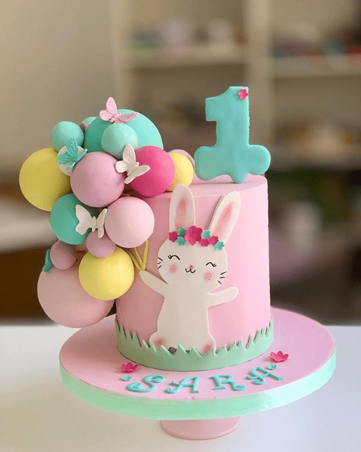 Stunning Bunny Cake