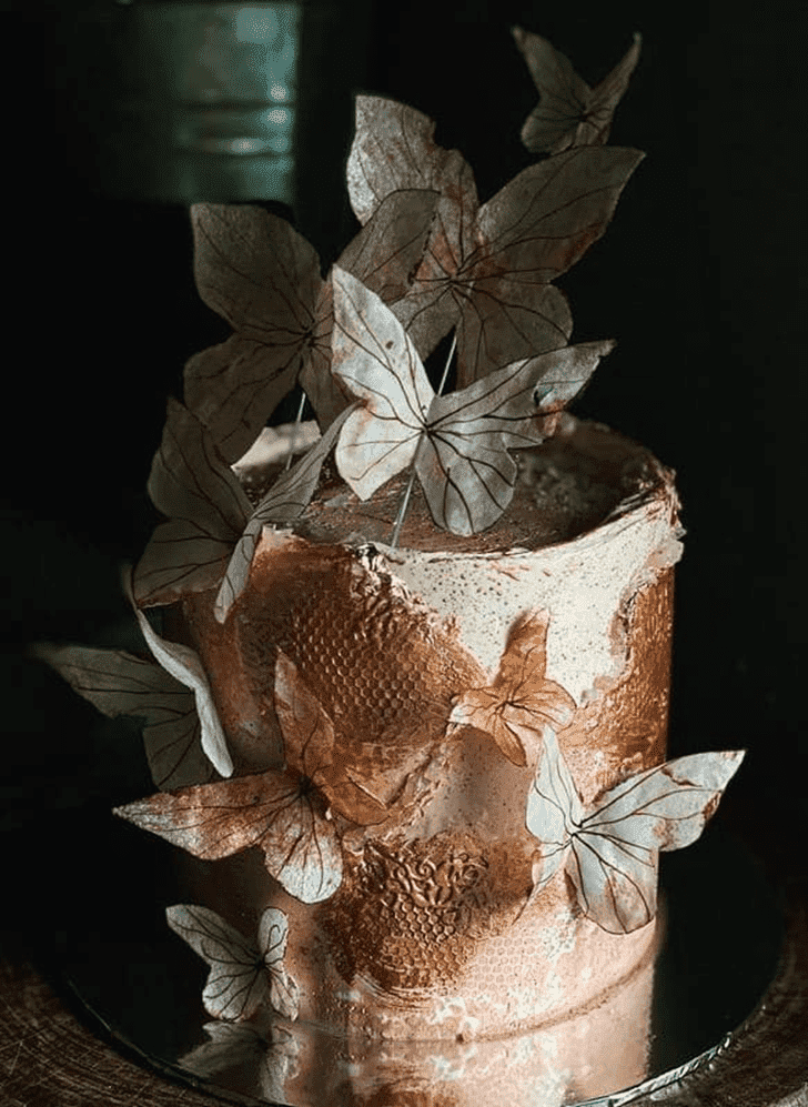 Captivating Butterfly Cake