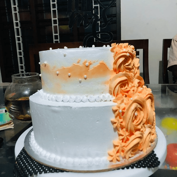Appealing ButterScotch Cake