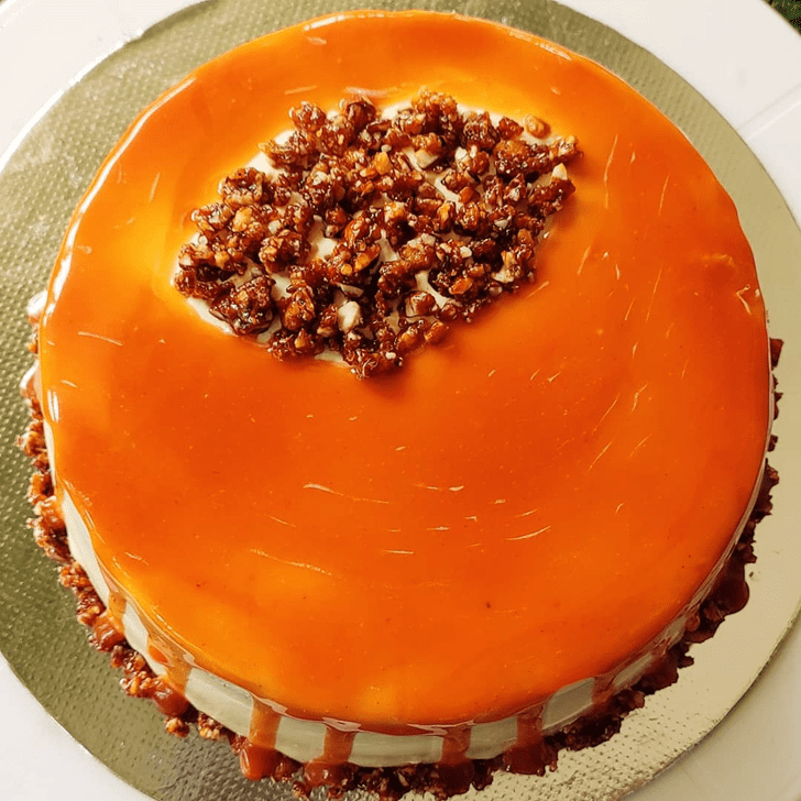 Charming ButterScotch Cake