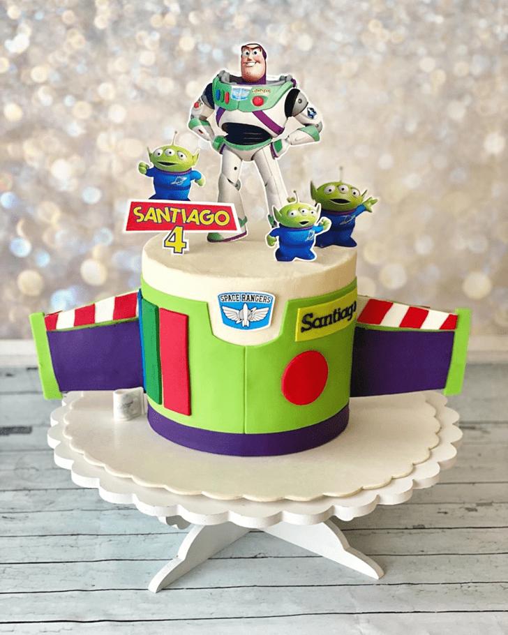 Adorable Buzz Lightyear Cake