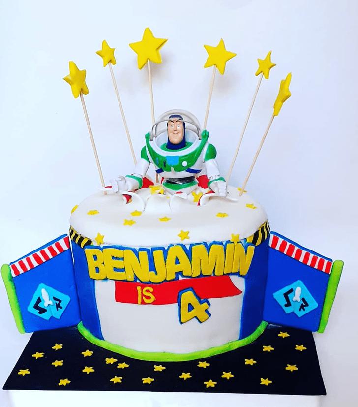 Angelic Buzz Lightyear Cake
