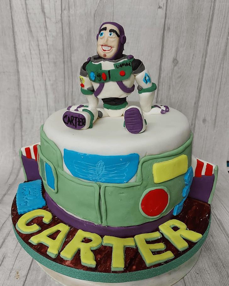 Appealing Buzz Lightyear Cake