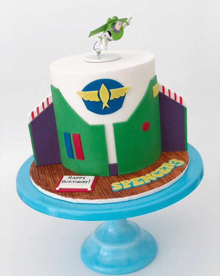 Bewitching Buzz Lightyear Cake