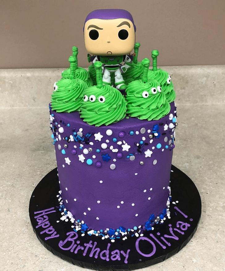 Classy Buzz Lightyear Cake