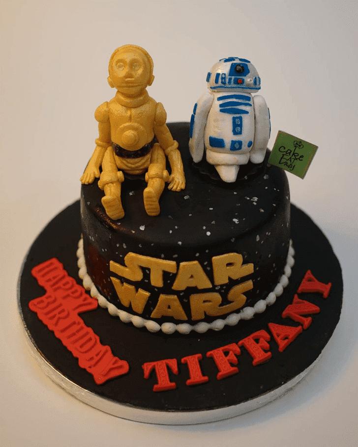 Captivating C-3PO Cake