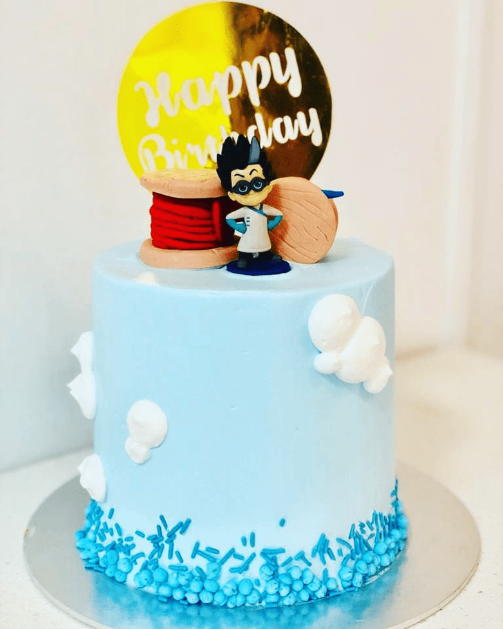 Charming Cable Cake