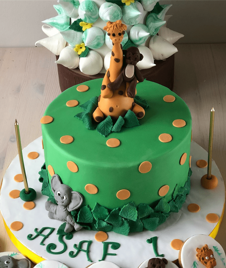 Alluring Camel Cake