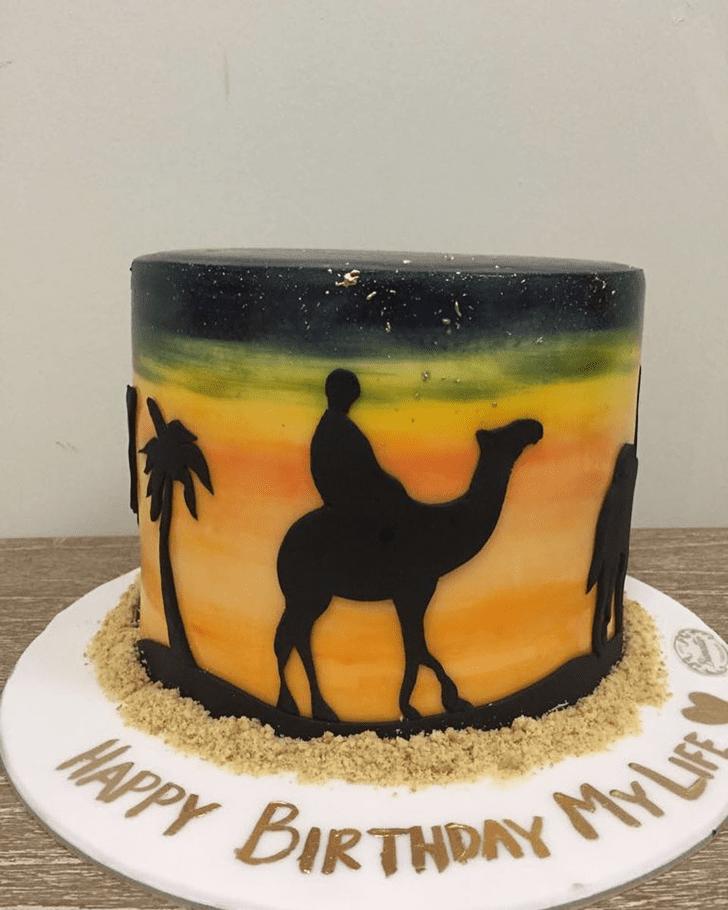 Appealing Camel Cake