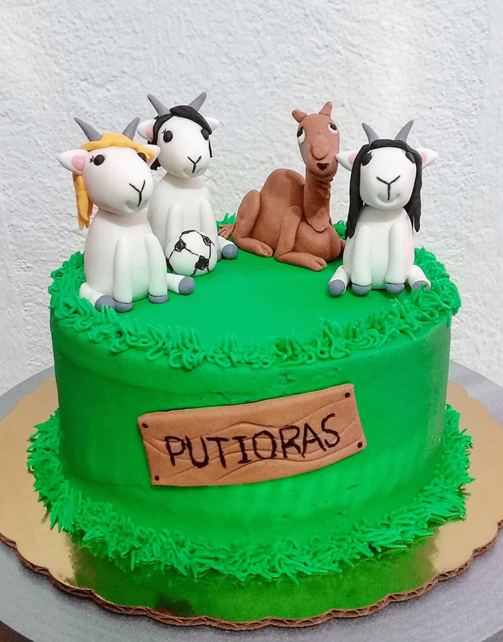 Comely Camel Cake