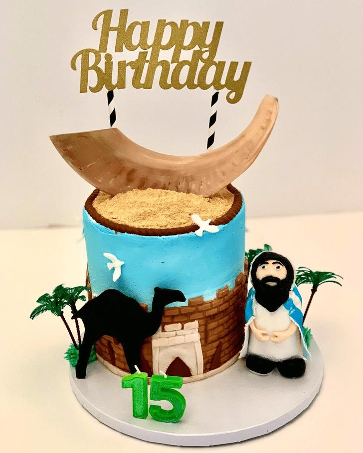 Delightful Camel Cake