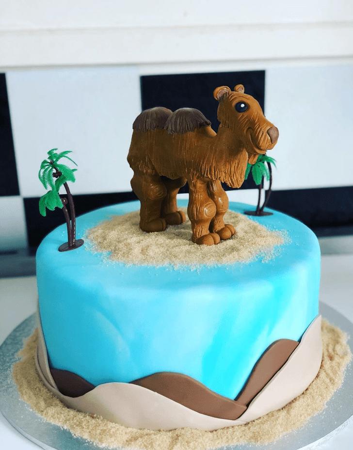 Exquisite Camel Cake