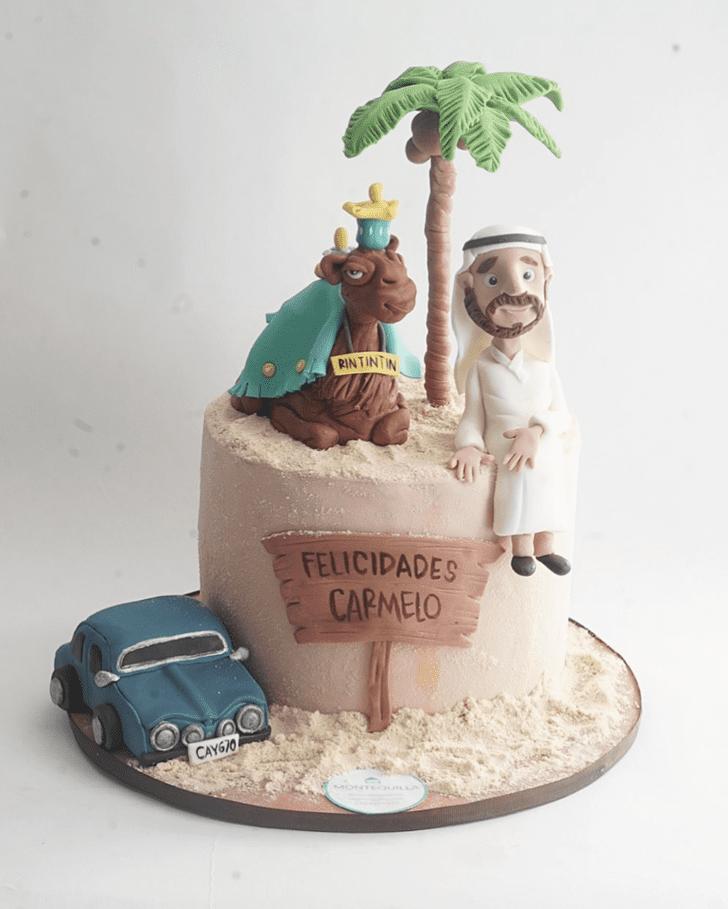 Magnificent Camel Cake
