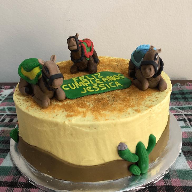Marvelous Camel Cake