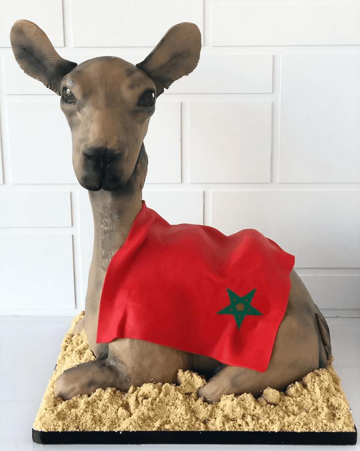 Nice Camel Cake