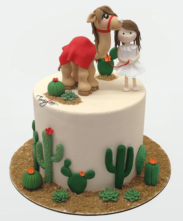 Superb Camel Cake